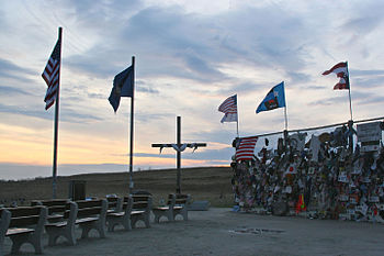 Flight93memorialatsunset