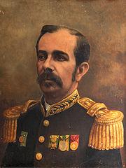 O presidente Marechal Floriano Peixoto.