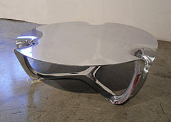 Flow Side Table, Wexler Gallery, 2009