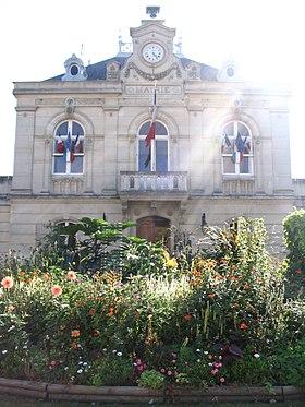 L'hôtel de ville de Fontenay-aux-Roses