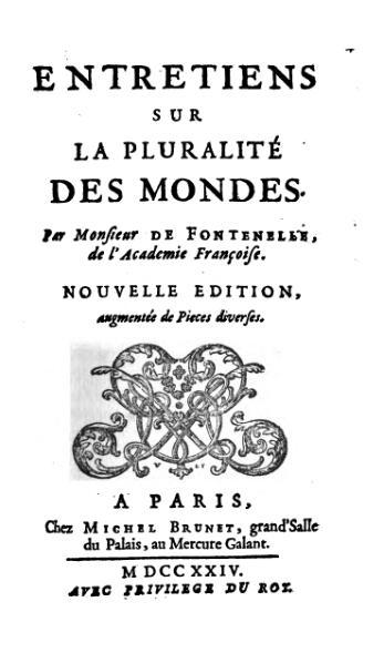 File:Fontenelle - Entretiens sur la pluralité des mondes.djvu