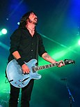 Dave Grohl at Foo Fighters concert in 2011