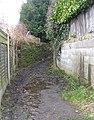 Footpath - Belmont Rise - geograph.org.uk - 1179559.jpg