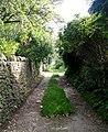 Footpath - Thwaites Brow Road - geograph.org.uk - 977177.jpg