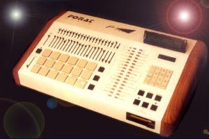 Forat F9000 - Forat F9000 integrated digital drum machine and MIDI keyboard recorder.