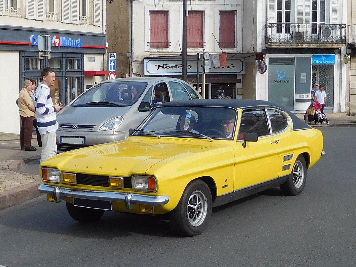 File Ford Capri Mk I Yellow Black Jpg Wikimedia Commons