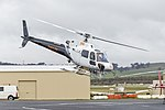 Forest Air (VH-LEY) Aérospatiale AS 350B2 Ecureuil at Wagga Wagga Airport.jpg