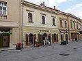 Former Black Eagle Pharmacy. Listed residential building ID 3827. Baroque, 18th century - 5, Fő St., Downtown, Székesfehérvár, Fejér county, Hungary.JPG