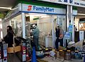 Former Pocketplat Ikoma No.1 store which is due to be set to Kintetsu-eki-Fami out of the ticket gate of Ikoma station store 20140129.JPG