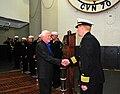 Former President Jimmy Carter visits USS Carl Vinson. (8516136090).jpg