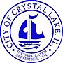 Former city logo of Crystal Lake, Illinois.jpg