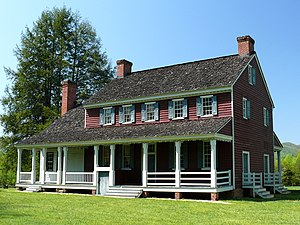 Lenoir, North Carolina - Fort Defiance, home of William Lenoir