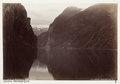 Fotografi av Syv söstere. Geirangerfjord, Norge - Hallwylska museet - 105697.tif