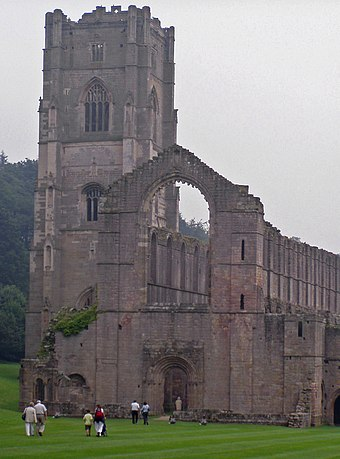 Ruins of Fountains Abbey, Yorkshire Fountains Abbey.jpg
