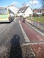 Früherer Zustand, Nordrand Mahlower Straße vor Einmündung der Osdorfer Str. - panoramio.jpg
