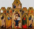 Francesco di Neri da Volterra. Saint Paul Polyptych. c.1365. 225x252 cm. Collezione Vittorio Cini, Venice..jpg