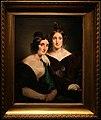 Francesco hayez, ritratto delle signore carolina grassi e bianca bignami, sorelle gabrini, 1835.jpg