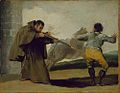 Francisco de Goya - Friar Pedro Shoots El Maragato as His Horse Runs Off.jpg