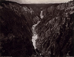 Frank Jay Haynes - Grand Canyon of the Yellowstone and Falls - Google Art Project.jpg