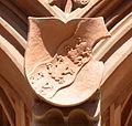 Frankfurt Haus zum Römer Balkon Wappen oben 04 Frosch.jpg