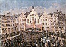 Frankfurt am Main Römer Bürgereid 1816.jpg