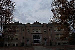 National Register of Historic Places listings in Stutsman County, North Dakota - Image: Franklin Elementary Jamestown