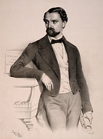 Franz Doppler by Ágost Elek Canzi 1853.jpg