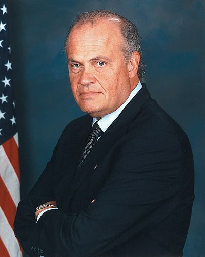 Fred Thompson, American politician and actor