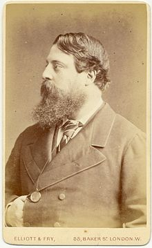 Photograph of Lord Rendlesham, about 1874, when he was 34.