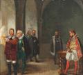 Frederik Christian Lund - Christoffer Rosenkrantz forhøres af Christian IV.png