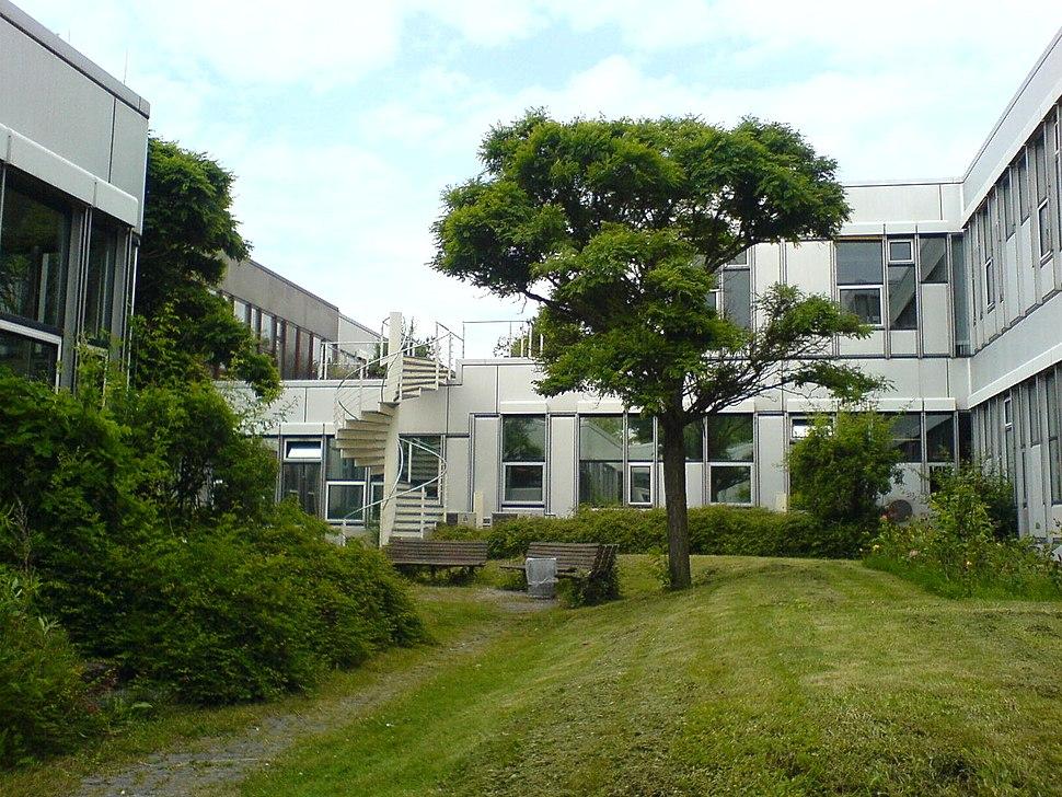 Freie Universitaet Berlin - Silberlaube - Innenhof 2