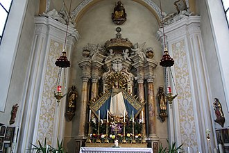 Freienfeld - The Chapel Our Lady of the Snow