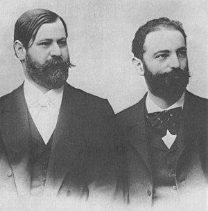 Wilhelm Fliess - Fliess (right) and Sigmund Freud in the early 1890s.