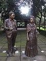 Frida Kahlo and Diego Rivera statues.jpg