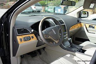 Lincoln MKX - Interior