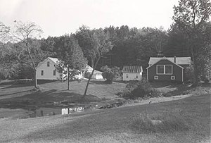 Robert Frost Farm (South Shaftsbury, Vermont) - National Park Service photo, 1974