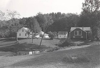 Robert Frost Farm (South Shaftsbury, Vermont) - National Park Service photo, 1974