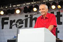 """Thilo Weichert auf der Demonstration """"Freiheit statt Angst"""" 2009"""