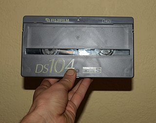 Digital-S Professional digital video cassette format