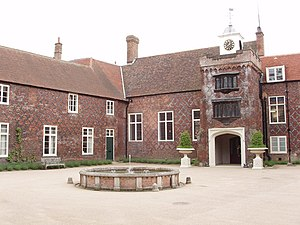London Borough of Hammersmith and Fulham - Fulham Palace courtyard