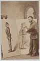 Full-length Portrait of Thomas Nast with Two Caricatures MET DP860318.jpg