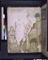 Full-page miniature of Adam and Eve working (NYPL b12455533-426399).tif