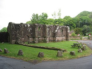 Listed buildings in Barrow-in-Furness - Image: Furness Abbey Capella Extra Portas geograph.org.uk 2433953
