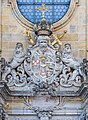 Gößweinstein Basilika Portal Wappen P1210220.jpg