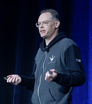Tim Sweeney (game developer) - Sweeney presents at the 2016 Game Developers Conference