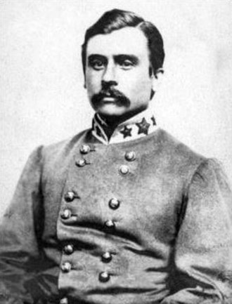 """1st Maryland Infantry, CSA - Lieut. Col. George H. """"Maryland"""" Steuart, a strict disciplinarian."""