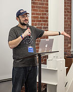 GVarnum-WMF at Wikipedia 15.jpg