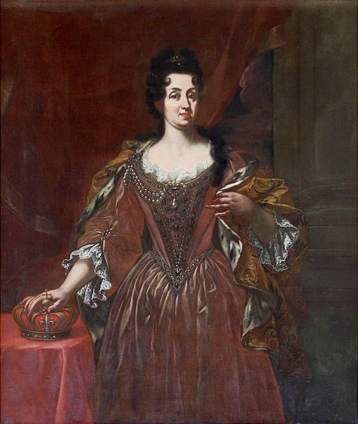 File:Gabbiani, Giovanni Gaetano (attr.) - Official portrait of Marguerite Louise d'Orléans as Grand Duchess of Tuscany.jpg