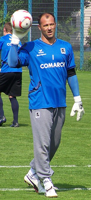 Gábor Király - Király training with TSV 1860 München in 2011