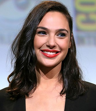 Wonder Woman (2017 film) - Image: Gal Gadot cropped lighting corrected 2b
